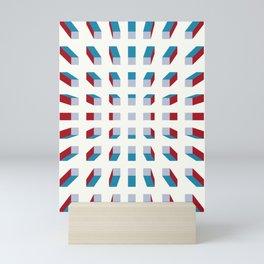 Depth perception - zoom out Mini Art Print