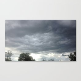 MAD CLOUDS Canvas Print