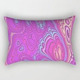 Abstract loops 6B Rectangular Pillow