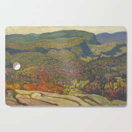 J.E.H. McDonald Forest Wilderness, 1921, McMichael Canadian Art Collection Cutting Board