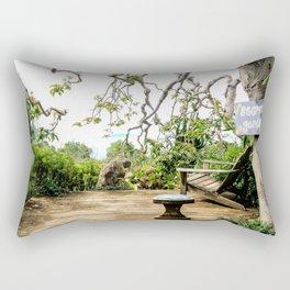Secret Garden - front view Rectangular Pillow
