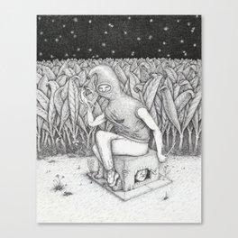 Claustrum Canvas Print