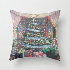 Christmas Morn Throw Pillow