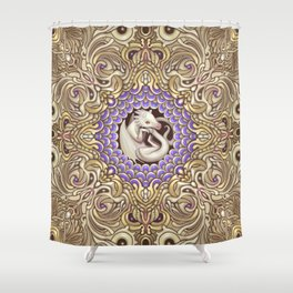 The Pearl Shower Curtain