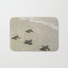 The Journey Begins by Teresa Thompson Bath Mat