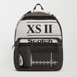 Cassette Tape Black And White #decor #homedecor #society6 Backpack