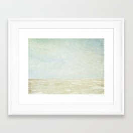 Beach Art Framed Art Print