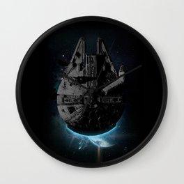 Stealth Falcon Wall Clock