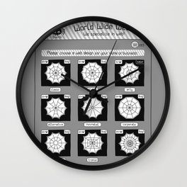 Web Enterprise Wall Clock