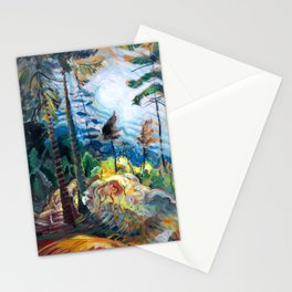 Emily Carr - British Columbia Landscape - Canada, Canadian Oil Painting - Group of Seven Stationery Cards