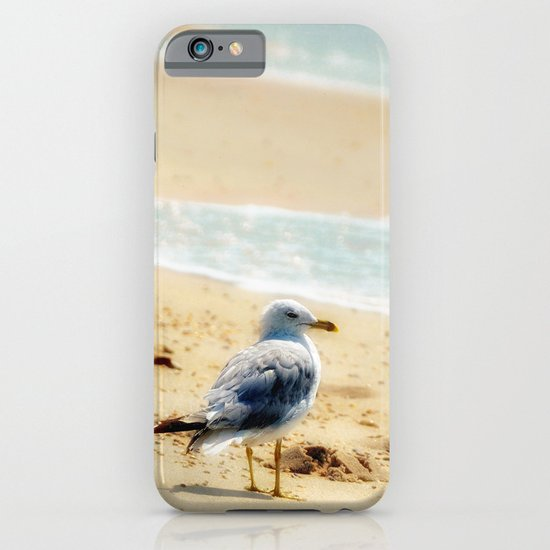 Lonely gull of summer. iPhone & iPod Case