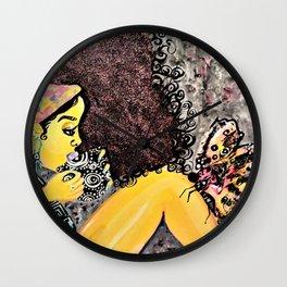 Nakia Harris Wall Clock