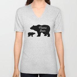 Mama Bear Unisex V-Neck