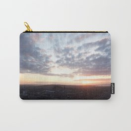 Salisbury Crags overlooking Edinburgh at sunset 4 Carry-All Pouch