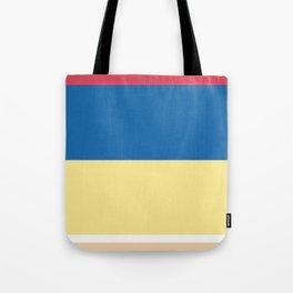 COLOR ME SNOWWHITE Tote Bag