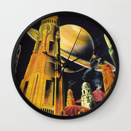 New Earth  Wall Clock