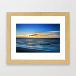 The Perfect Beach Framed Art Print
