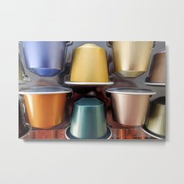 Nespresso Time Metal Print