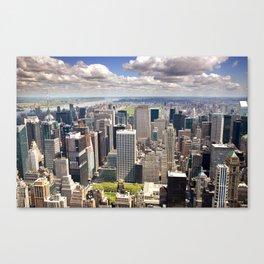 Upper Manhattan, New York Canvas Print