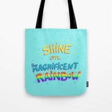 Magnificent Rainbow Tote Bag