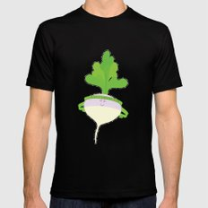 I have a cunning plan MEDIUM Mens Fitted Tee Black