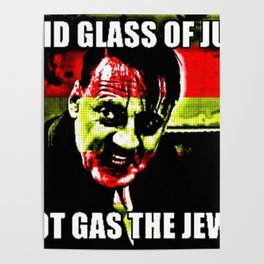 Glass Of Gas Poster