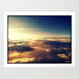 What heaven looks like Art Print