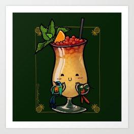 Food Series - Trinidad Cobbler Art Print
