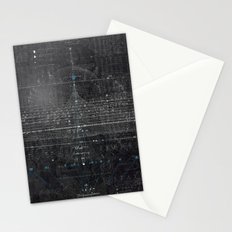 Numbers Diagram Stationery Cards