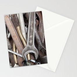 old tools Stationery Cards