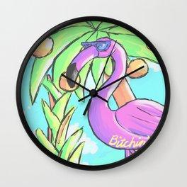Bitchin Wall Clock