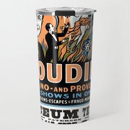 Harry Houdini, do spirits return? Travel Mug