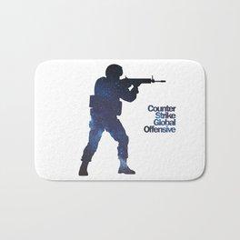 Space Army - Counter Strike Bath Mat