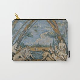 Paul Cezanne's The Large Bathers Carry-All Pouch