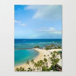 Rainbow, Hawaii Canvas Print