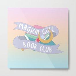 Magical Girl Book Club Metal Print