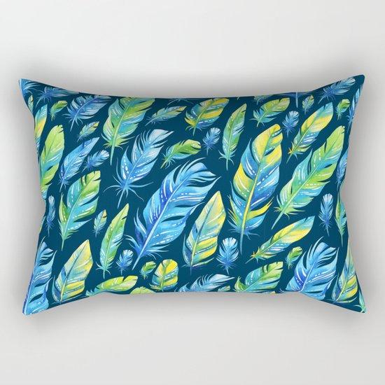 Plumas 3 Rectangular Pillow