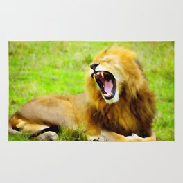 Roaring Lion Rug
