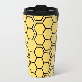 Trapped in the Comb Travel Mug