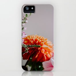 Bright and Airy Dahlia iPhone Case