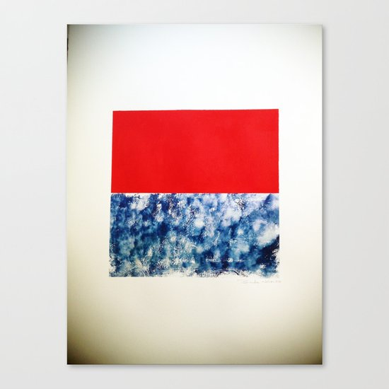 SKY/ORG Canvas Print