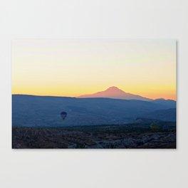 Cappadocia Sunrise Landscape Canvas Print