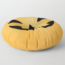 Happy Jack-O-Lantern Floor Pillow