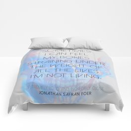 Extremely Loud and Incredibly Close Comforters