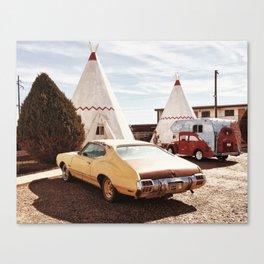 Wigwam Motel Holbrook, AZ Canvas Print