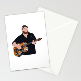 luke combs Stationery Cards
