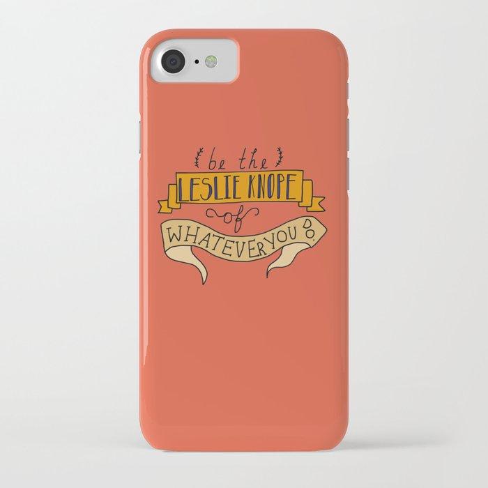 Leslie Knope iPhone Case