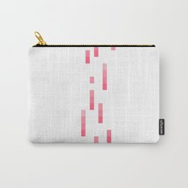 Pixelated-Heart Carry-All Pouch