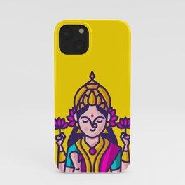 Lakshmi - The Goddess of Wealth iPhone Case