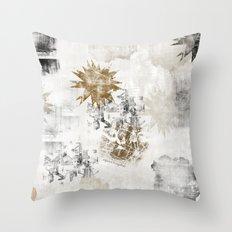 Sandy FLOW Throw Pillow